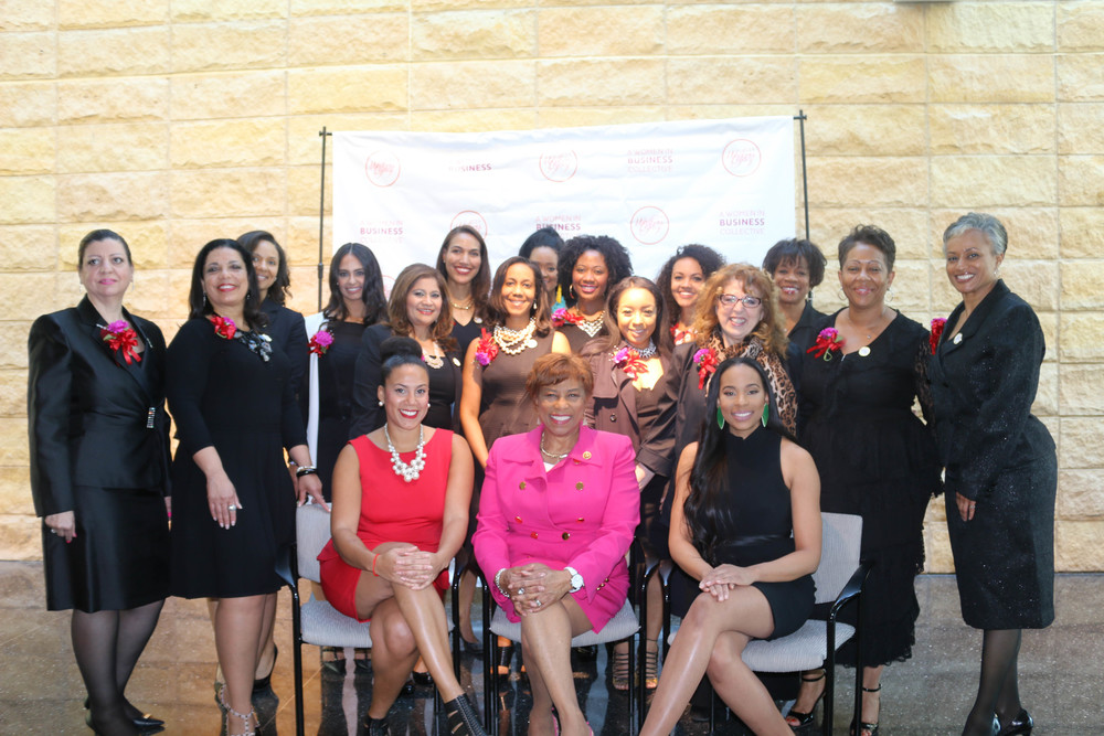 Walker's Legacy Power 25 Women Leaders of Detroit, some are pictured here: (l-r) Natalie Cofield, WL Founder, Congresswoman Brenda Lawrence-14th District; Anistia Phiaria Thomas: WL Detroit Chair, Fay Beydoun,Tanya R. Allen, Councilwoman Mary Sheffield, Megan Moslimani, Renee Ahee, Dr. Shauna Diggs, Toni Jones, Alexis Dishman, Mumtaz Haque, Gwen Jimmere, Meagan Ward, Jereshia Hawk, Sharon Banks, Tonjola Cole, Leslie Andrews
