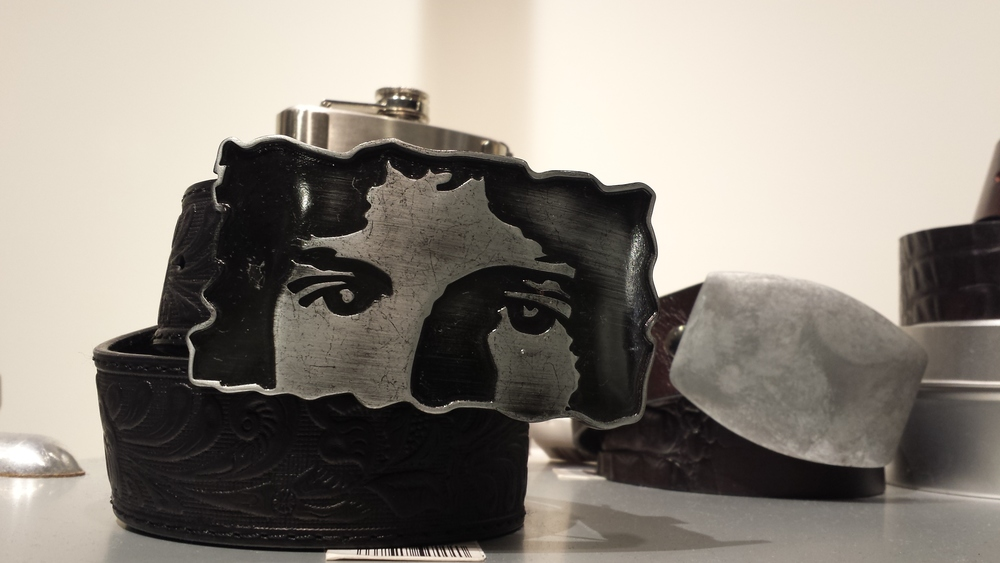 Jim Morrison Belt Buckle