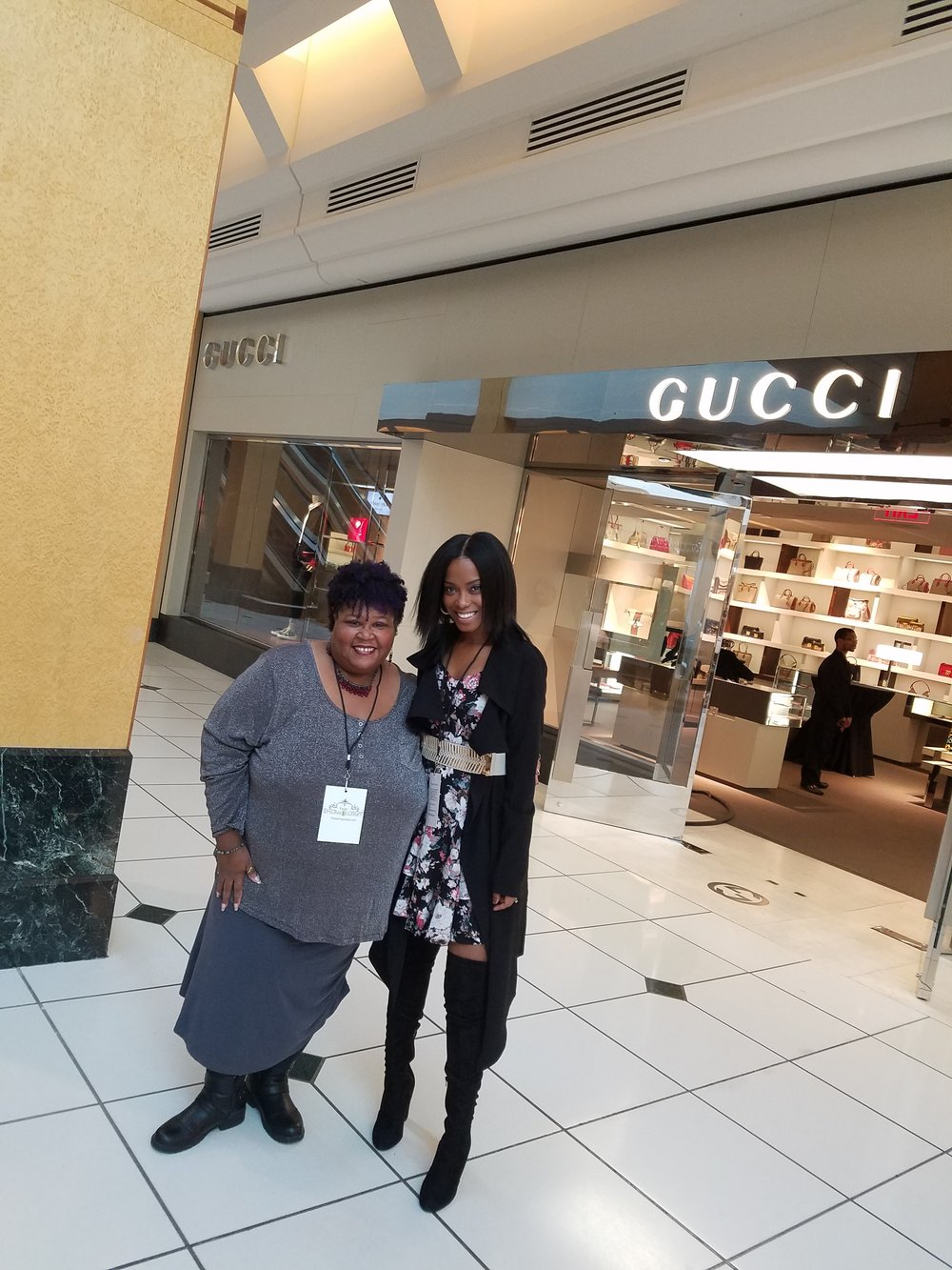 Head Blogger LisaB and The Styling Closet Owner, Latrice Delgado-Macon.