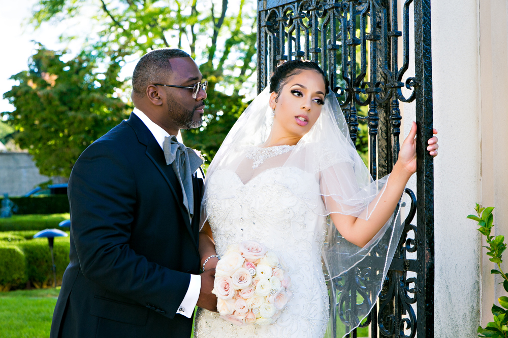 The bride and groom featured: Damond and Melanie Bowers  Photographer: Marco Antonio Photography