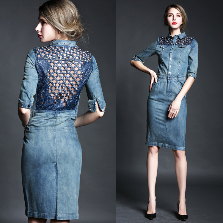 luxury-2015-autumn-fashion-cutout-beading-women-s-one-piece-dress-knee-length-denim-dress-plus.jpg