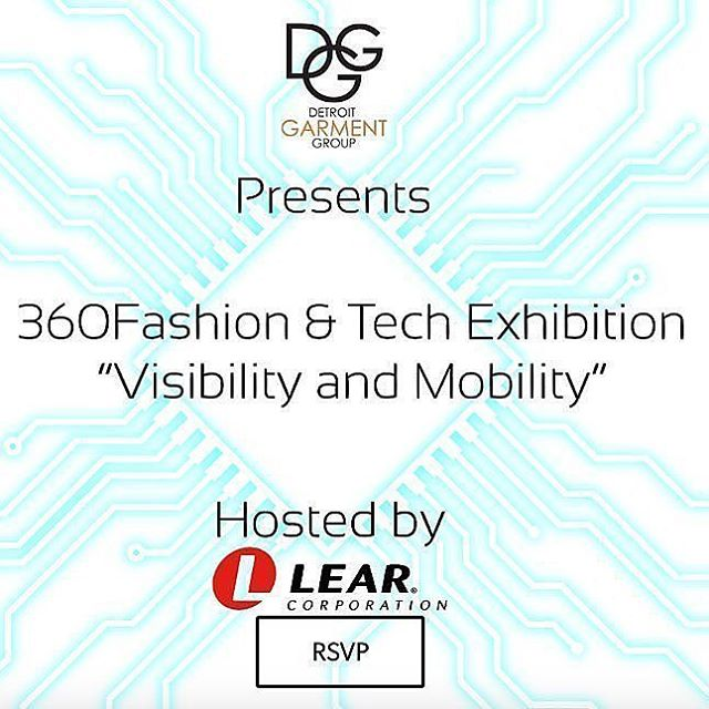 Free, Drop-in,  pop-up. RSVP today.  An exhibition on SMART GARMENTS, ACCESSORIES AND E-TEXTILES taking place Friday October 13, 11am-7pm (stop in any time!), the day after FashionSpeak 2017, at the Lear Innovation Center in Detroit. .  FashionSpeak speaker Anina Net is putting together an amazing day, including an E-TEXTILE LED RIBBON WORKSHOP, where you can get hands on and make your own creation! .  This event is FREE and open to anyone interested in wearable tech. You MUST RSVP, and if you want to participate in the LED ribbon workshop, you MUST REGISTER. All info can be found via the attached link! .  Please share!  https://360ftdetroit.splashthat.com/  FashionSpeak #aninanet #fashiontech  #detroitgarmentgroup #detroit #detroitfashion #detroitstyle #fashionindustry #fashioncommunity #fashion