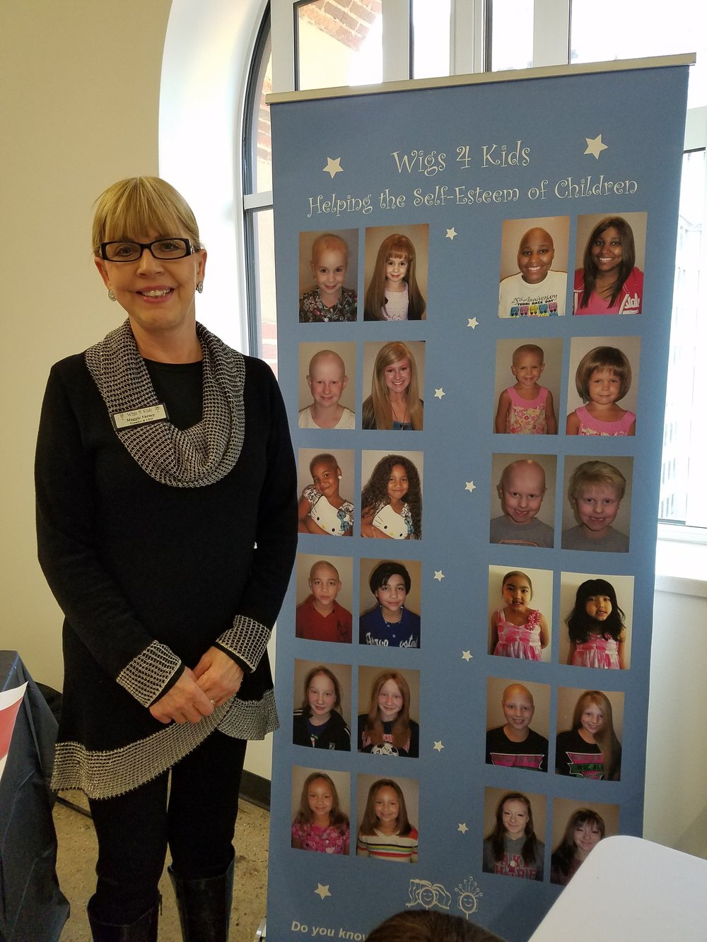 Maggie Varney, Founder/CEO Wigs 4 Kids