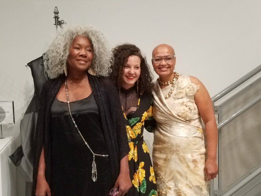 Designers, Lynette Halalay, Feyrouz Ashoura and Mandisa Smith.
