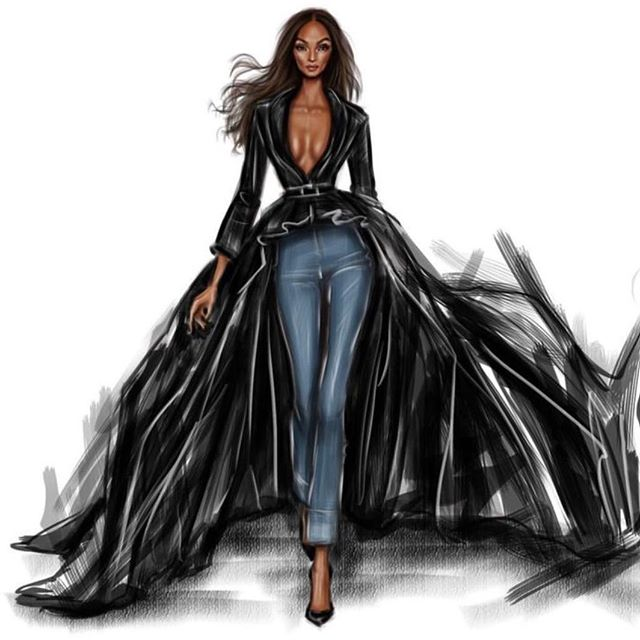Strong women are fearless. They are not afraid of storms: in storms the learn how to sail their ship! #thestylingcloset This how I'm stepping into the weekend!!! 💋🖤