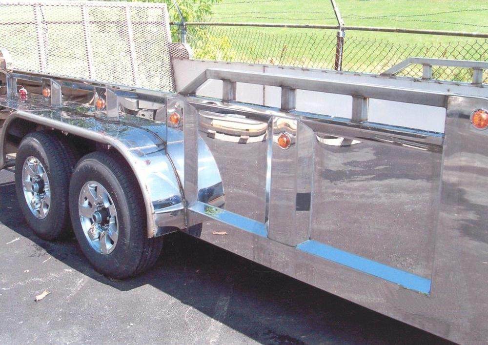 stainless steel trailer