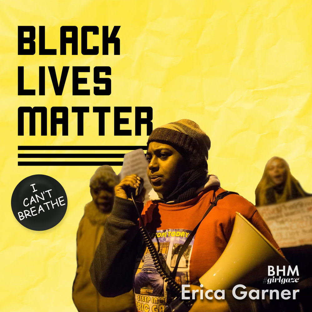 "Erica Garner dedicated her life to civil rights advocacy following her father's death by police brutality. Her father, Eric's, last words ""I can't breathe"" have become a rallying cry for the Black Lives Matter movement of which Erica served as a key leader.     Erica tirelessly fought for justice, but also fought for her life last December when she was hospitalized for a heart attack triggered by an asthma attack at only 27 years old."