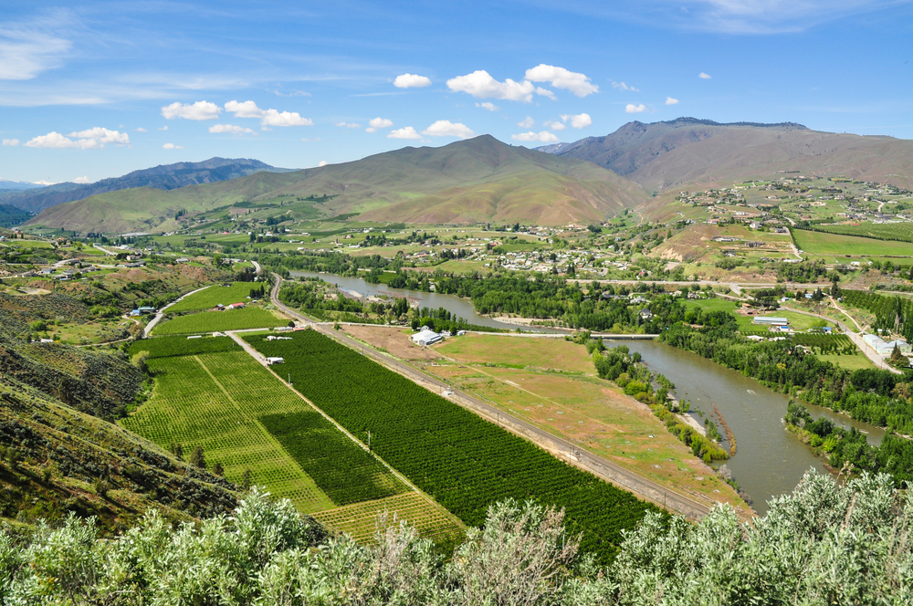 The Wenatchee River and Sage Hills