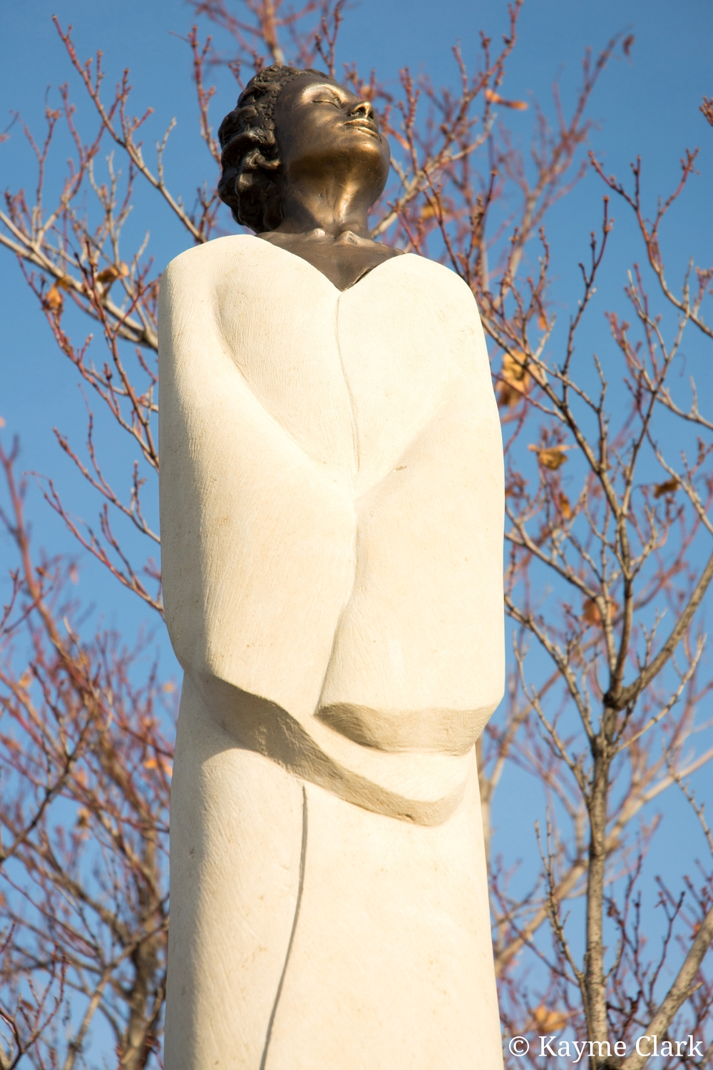 Woman sculpture