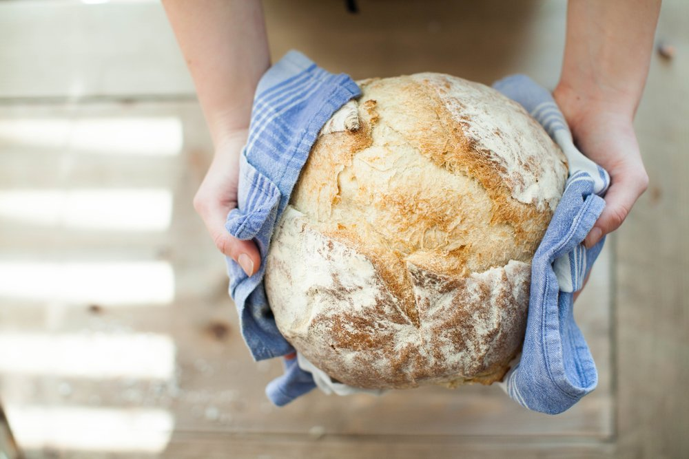 Baking through the night gives you the absolute freshest bread available.  Put that in yer pipe and smoke it!