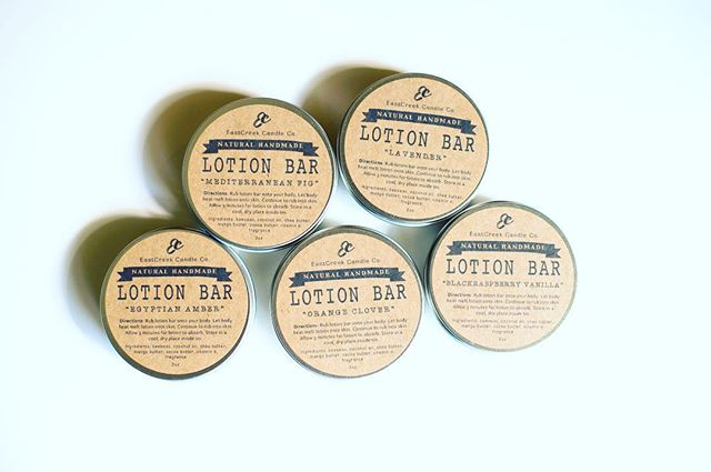 """Happy Saturday folks! I'm headed out to a """"Christmas in July tea"""" with some friends... Super pumped!! ❤️🌈💕 Just wanted to let y'all know I've got a few lotion bars left for you LB lovers! Don't forget to use your 15% off code at checkout! . . . #lotionbarlove #eastcreekcandleco #madeinatl #makersmovement #mompreneur #atlantagifts"""