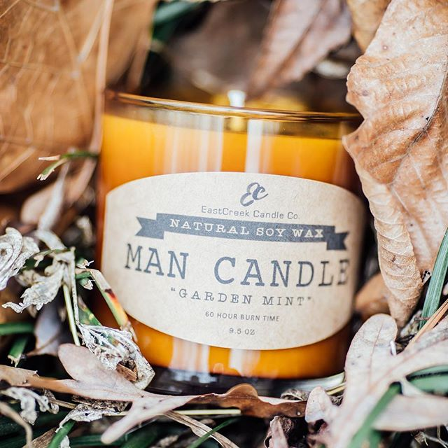 Stocked @thegibsonco  with more man candles yesterday! Shop local this season friends!!! ps-I'm making a special batch of garden mint for all of you GM fans! I'll keep you posted when they're ready!  #mancandles #100percentsoywax #eastcreekcandleco #shoplocalatlanta