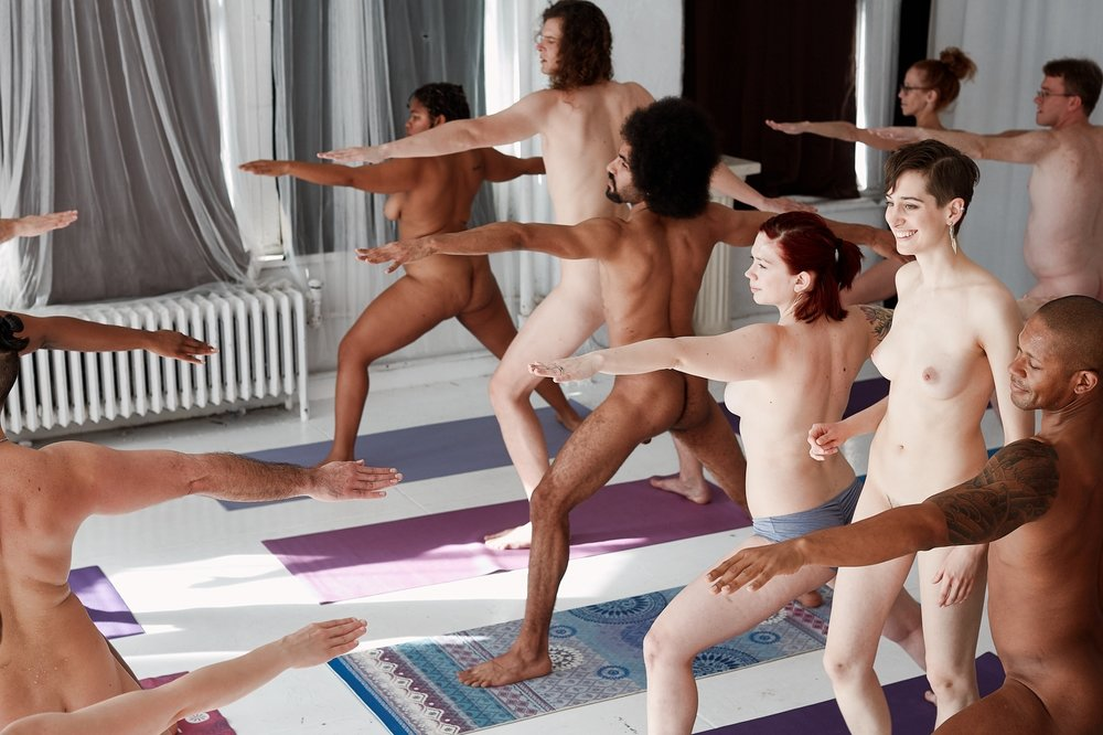 A Naked! Yoga & Pilates class with Naked in Motion