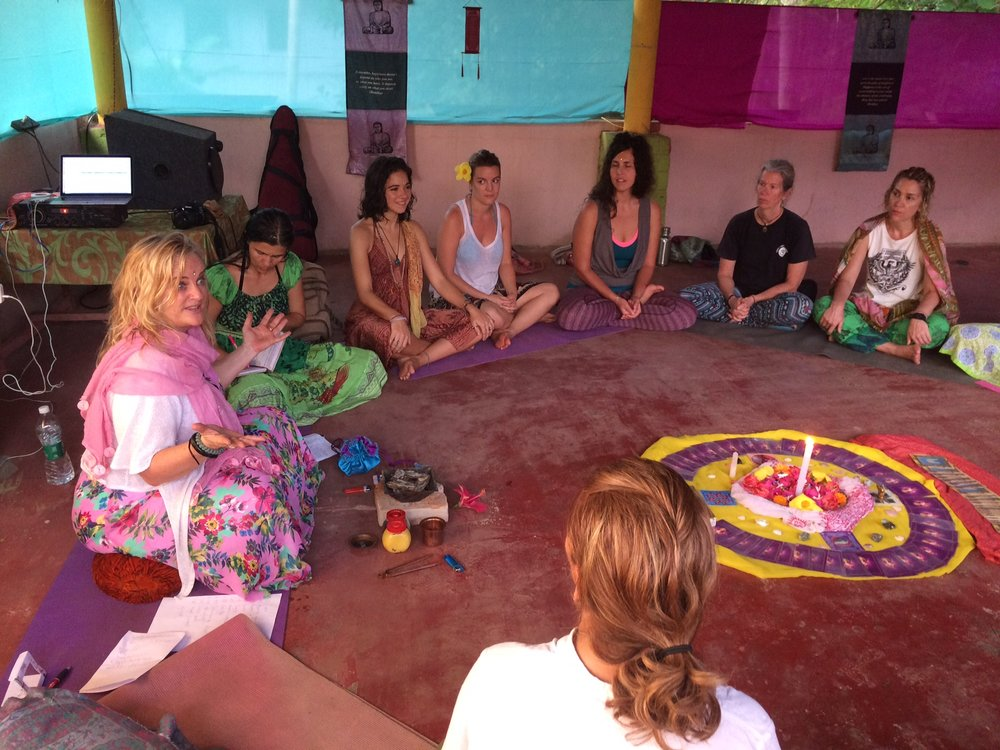 The opportunity to share with other women, from the heart, in a sacred women's circle was so powerful and inspiring for us all