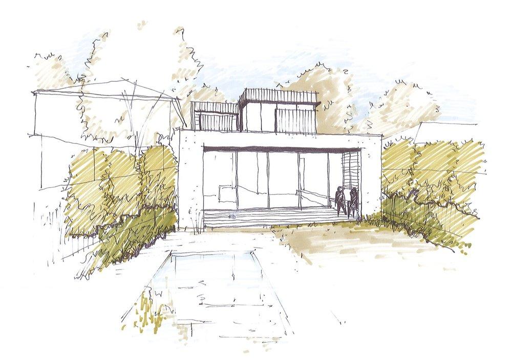 Rear Concept sketch