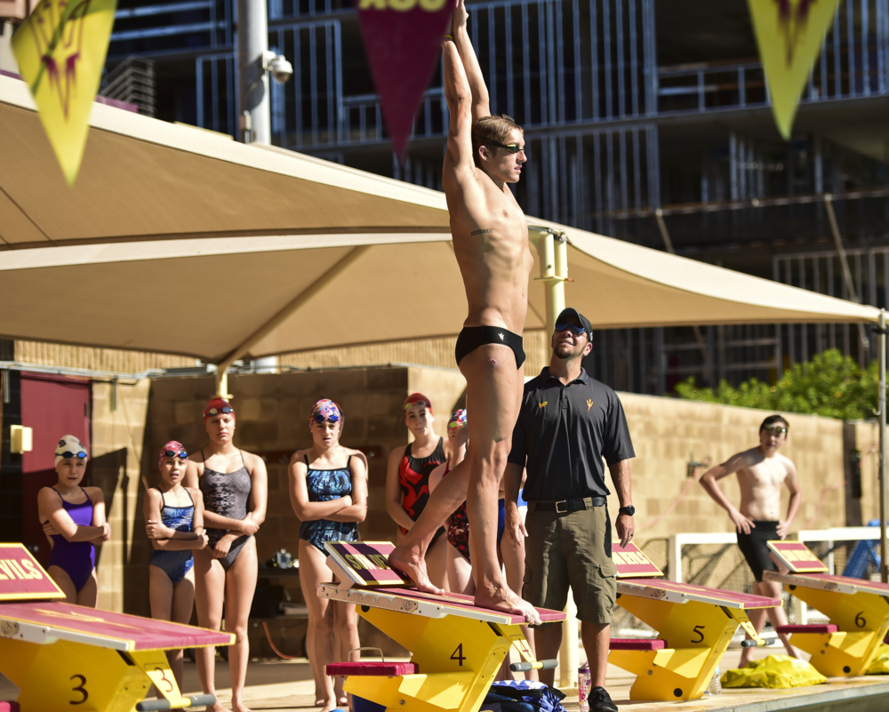 Christian Lorenz, Sun Devil Speed Swimming Clinic Assistant