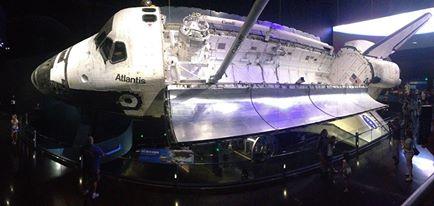 Atlantis at Kennedy Space Center.