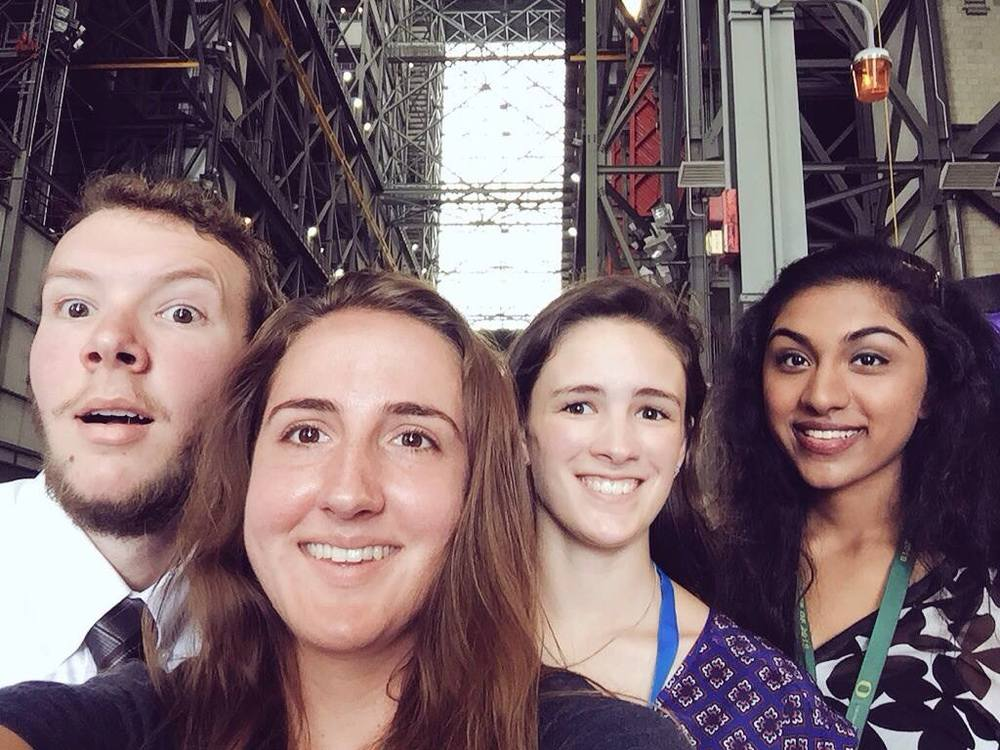 Took four passes, but we got into the VAB.
