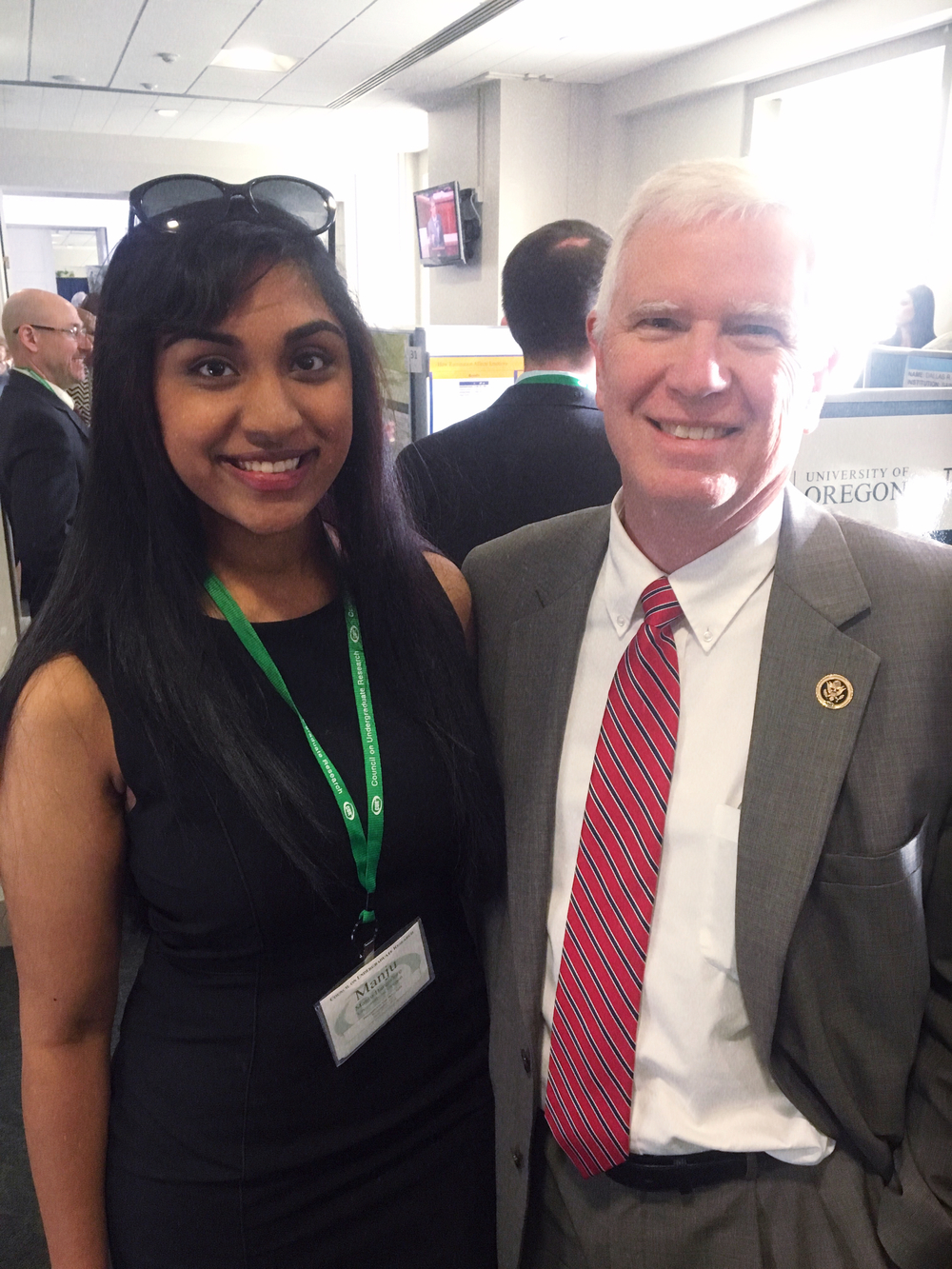 Hanging out with Representative Mo Brooks.