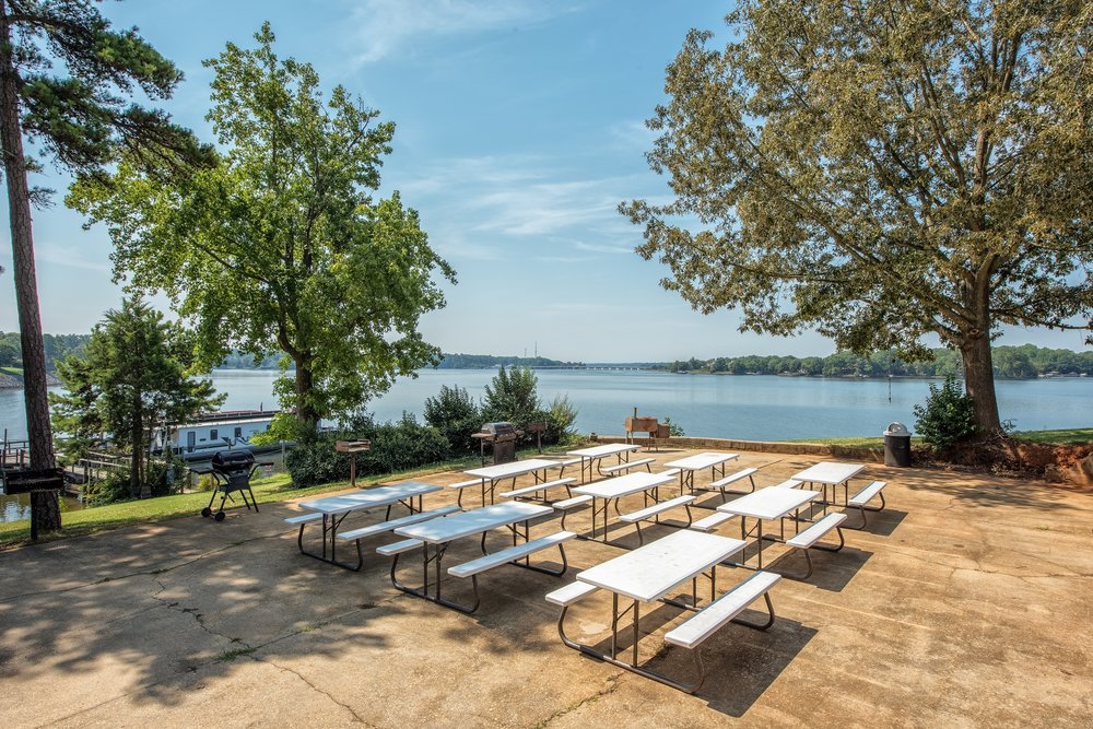 Lake Front Event Patio
