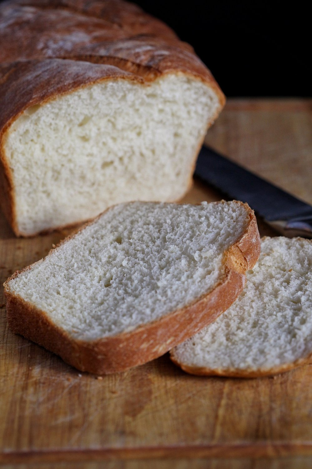 Homemade sandwich bread is one of the greatest treats ever! Makes the house smell amazing.
