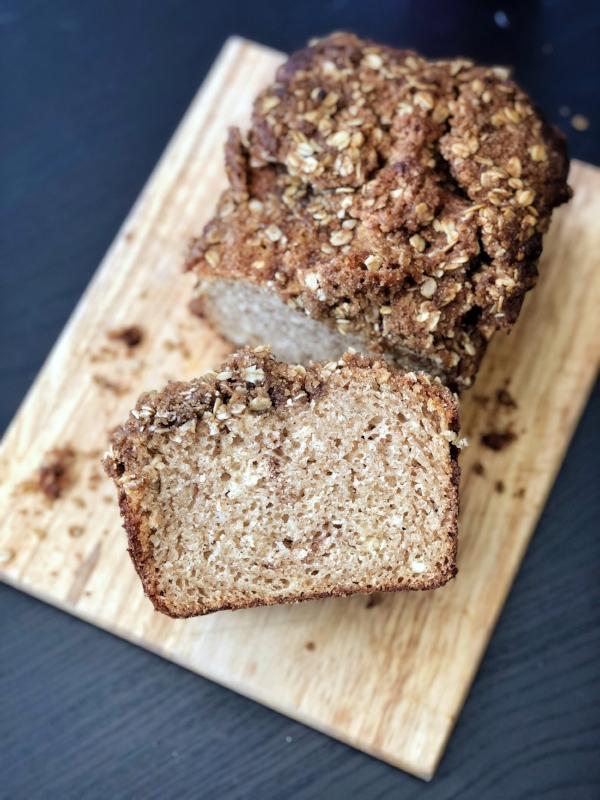 Cinnamon Streusel Loaf