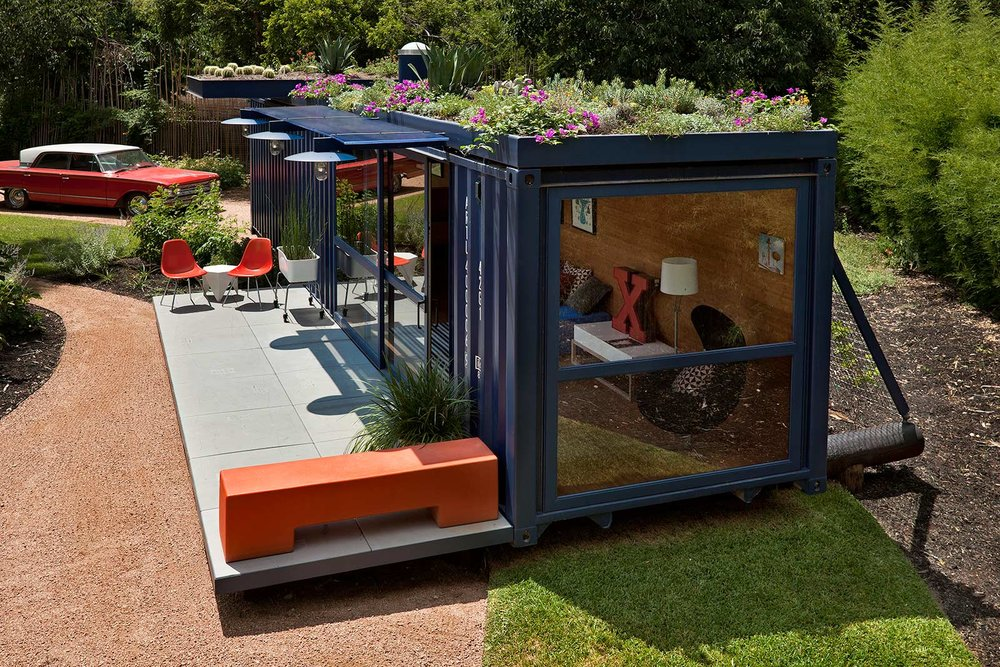 CONTAINER GUEST HOUSE – PHOTO: CHRIS COOPER