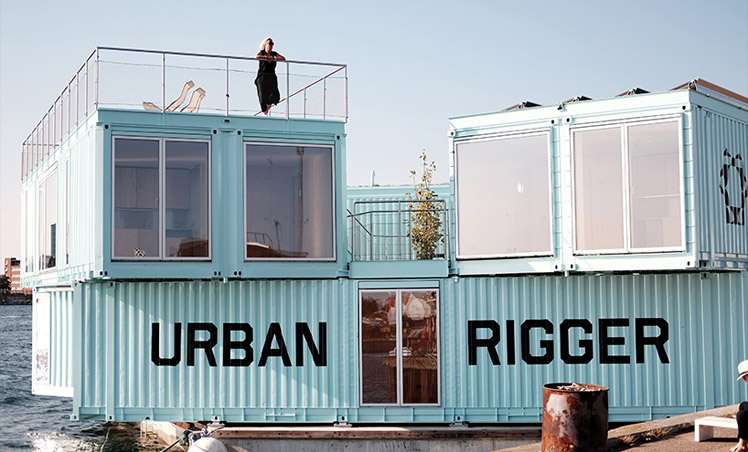 URBAN RIGGER STUDENT ACCOMMODATION : PHOTO: LAURENT DE CARNIERE