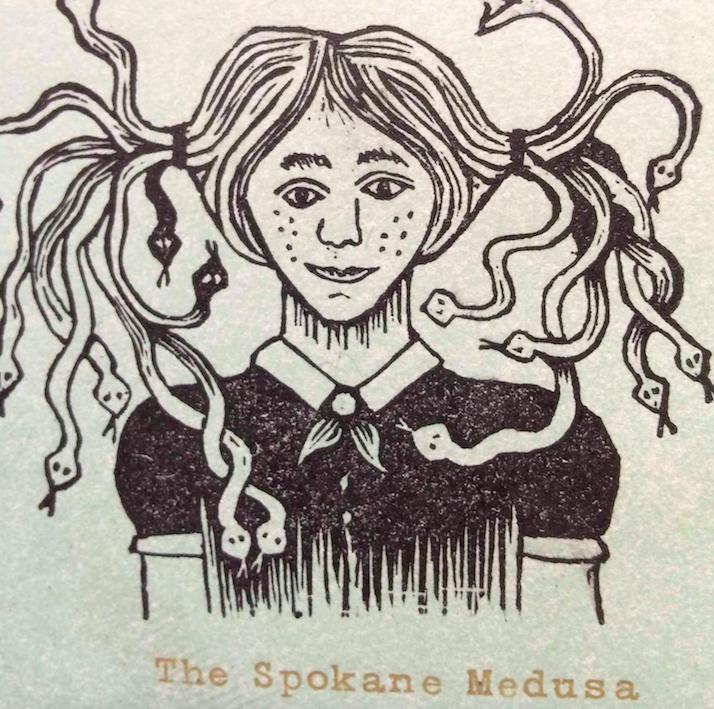 From a broadside of Favorite Monster, courtesy of Whitman University