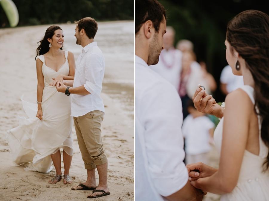Couple Wedding Portrait in Hawaii