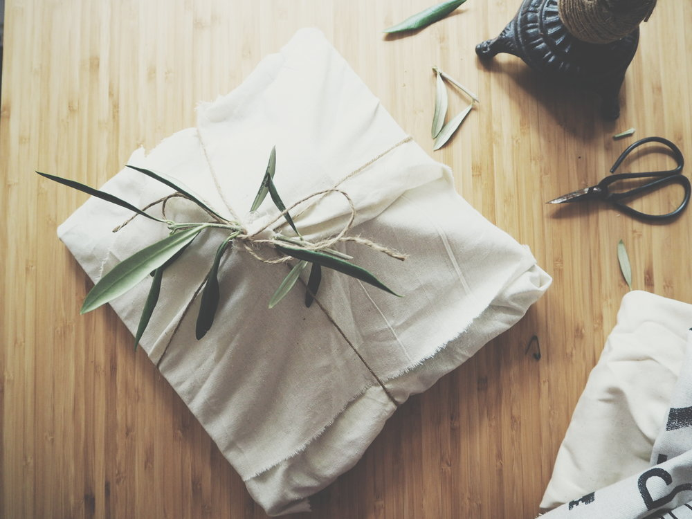 Sustainable wrapping, DIY wrapping for Christmas