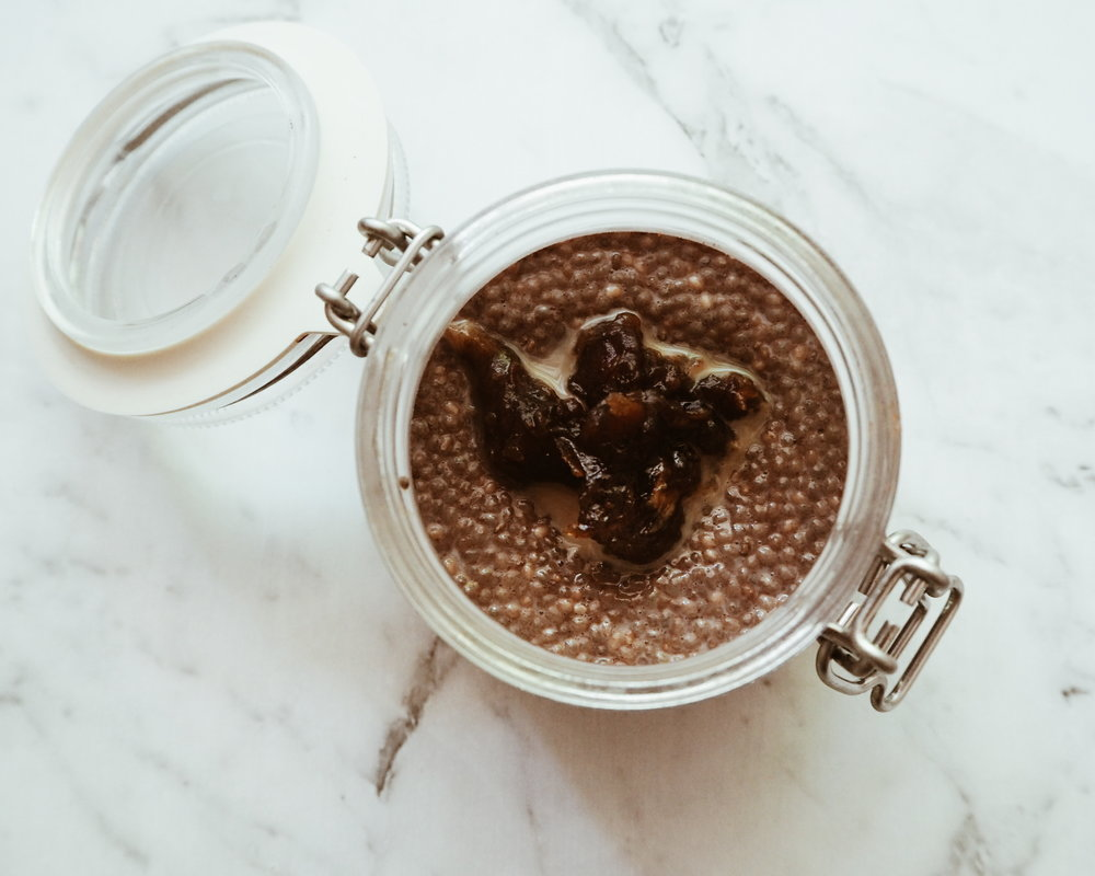My Salted Cacao Chia Pudding