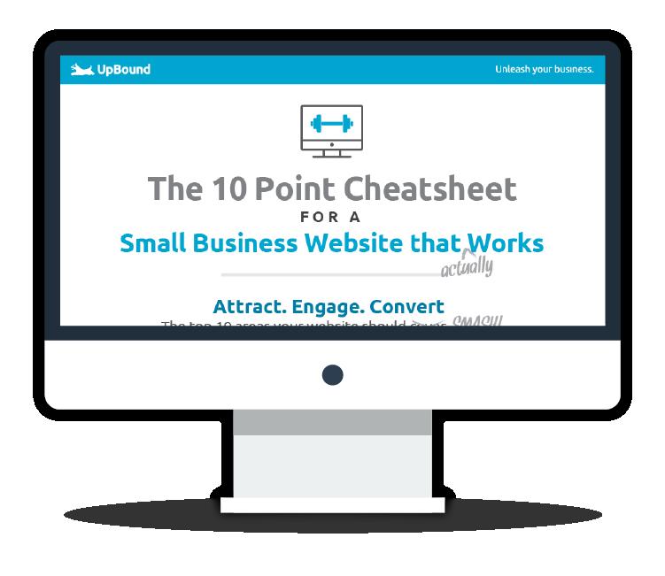 UpBound | 10 Point Website Cheatsheet