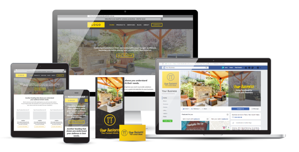 Complete Tradies Bundle | Special Marketing Package  | UpBound Website Design & Digital Marketing