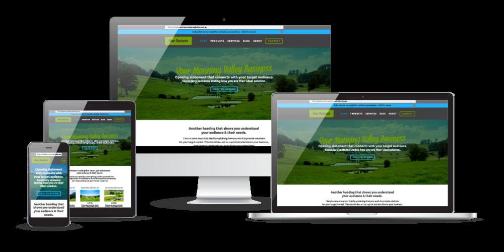Affordable website design in Taree, NSW | UpBound Digital Marketing Services