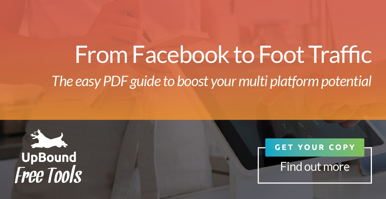 Get your copy now of 'From Facebook to Foot Traffic | UpBound Website Design & Small Business Marketing'