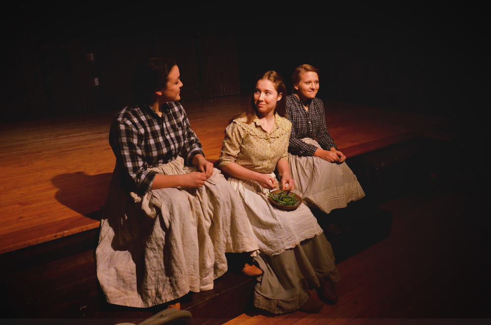 Nurse, Juliet, and Lady Capulet in  Romeo and Juliet  (The Wellesley College Shakespeare Society, 2013)