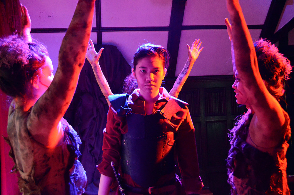 Macbeth and the Witches in  Macbeth  (The Wellesley College Shakespeare Society, 2012)