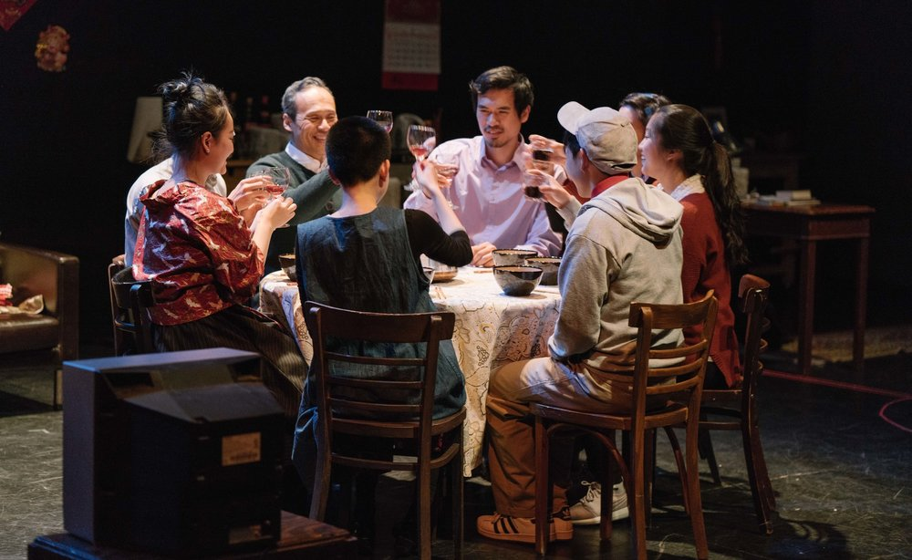 The Cast of  Speaking As Then . Photo by Elvin Hu.