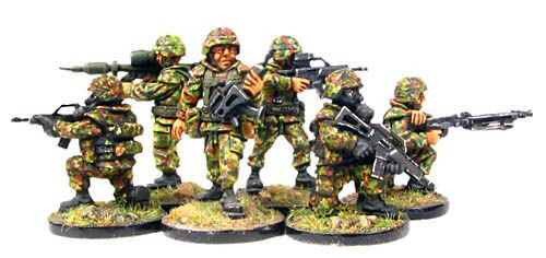 These are 28mm modern German infantry from an Australian manufacturer