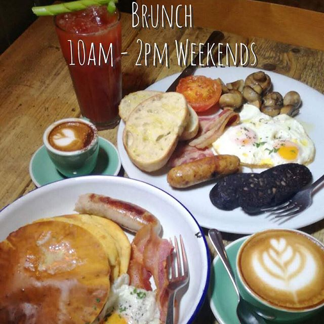 Yes wake up and smell the coffee...brunch is back by popular demand. #brunch #forestgate