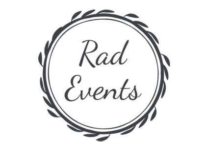 Mel @ Rad Events is one of the hardest working Event Planners we know. If you want that personal touch with someone who cares about you and to take the pressure off organising you wedding day. Then Rad Events would be a lifesaver.
