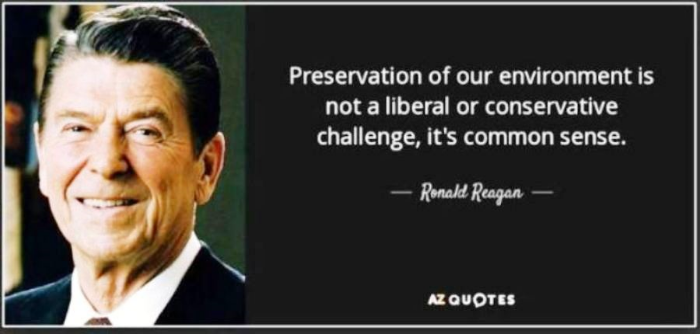Reagan on the environment
