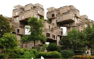 Habitat 67:  World's Fair, 1967 Montreal, Canada