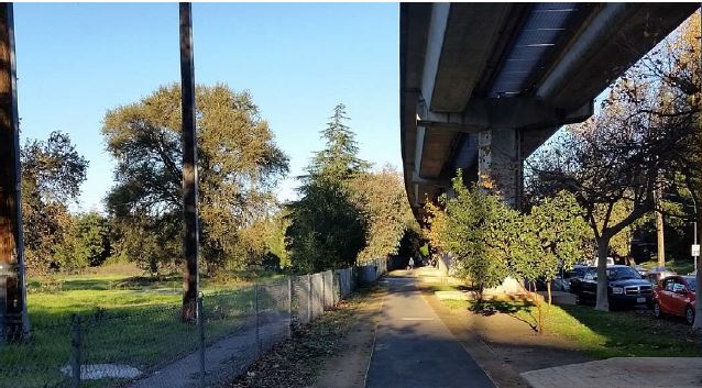 Site of future TOD mixed use project near Pleasant Hill/Contra Costa BART. (Walnut Creek Design Review Commission Agenda 01/18/17 .)