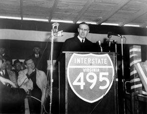 Federal Highway Administrator Rex Whitton vigorously revived and grew the Federal Highway system.