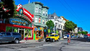 Haight Ashbury in San Francisco
