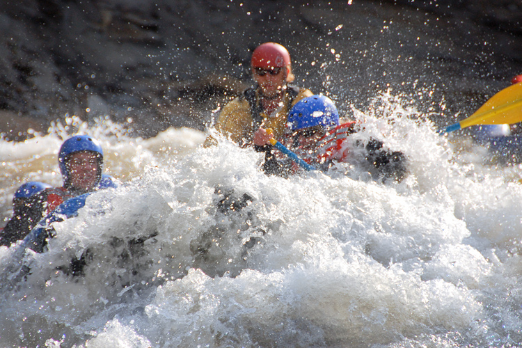 THE WHITE-KNUCKLE, PADDLE-YOUR-FACE-OFF, SCREAM WITH EXCITEMENT TRIP! learn more...