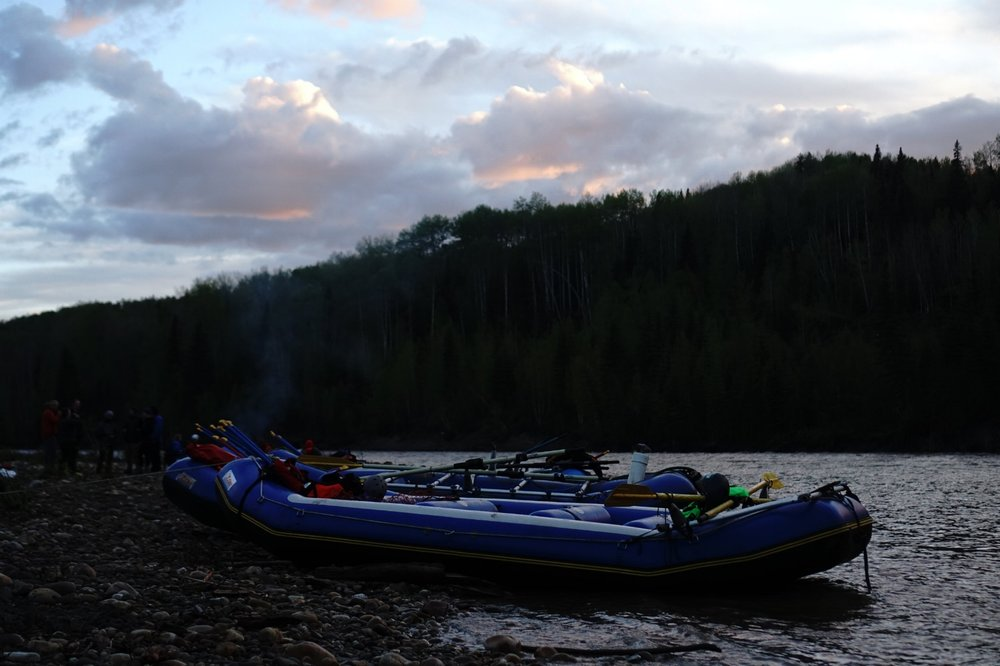 A BACKCOUNTRY ADVENTURE:  EXPERIENCE ALBERTA'S PREMIER OVERNIGHT RAFTING TRIP!    learn more...