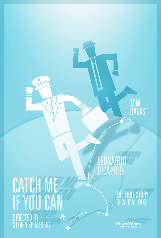 Catch Me If You Can My Film Poster Might Wonder